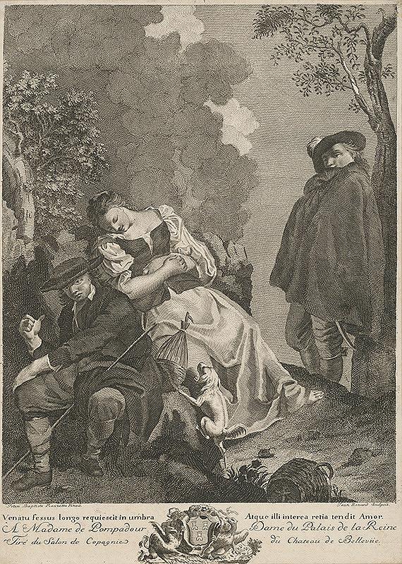 Jean Baptiste Piazzetta, Giovanni Volpato – Zaľúbený
