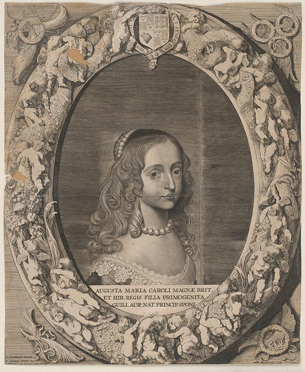 Jonas Suyderhoef, Gerrit van Honthorst – Augusta Maria