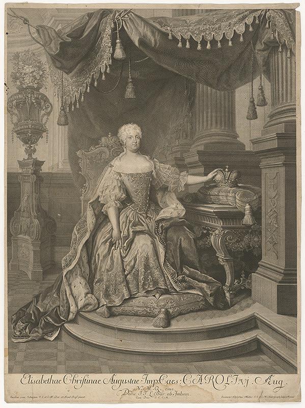 Jacques van Schuppen, Gustav Adolph Müller - Alžbeta Kristína