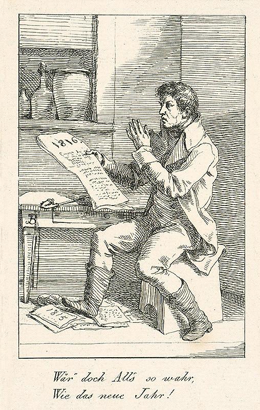 Josef Bergler ml. – Nový rok 1816