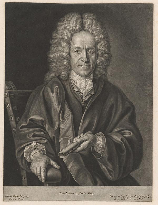 Bernhard Vogel, Ján Kupecký - Portrét muža