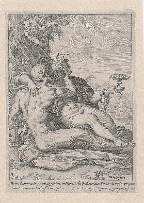 Hendrick Goltzius - Sláva a moc