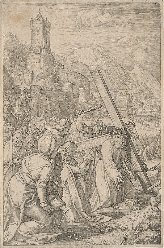 Hendrick Goltzius – Nesenie kríža (9)