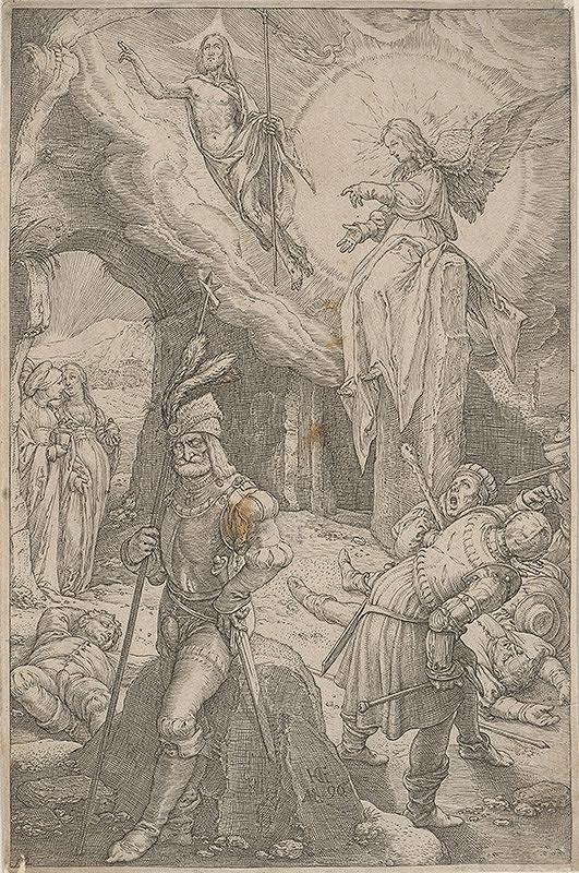 Hendrick Goltzius - Zmŕtvychvstanie (12)