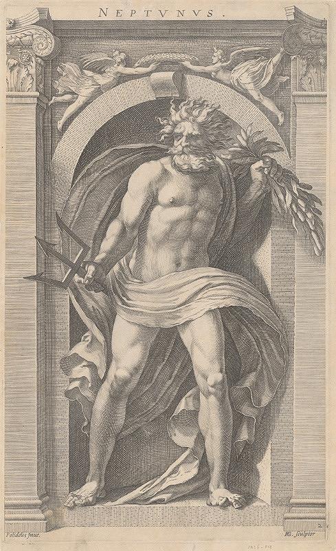 Hendrick Goltzius, Polidorus - Neptún