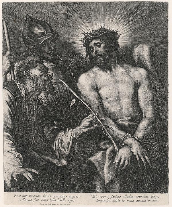 Anthony van Dyck - Vysmievanie Krista