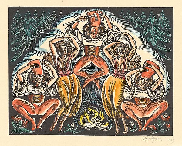 Wladyslaw Skoczylas - Tanec zbojníkov