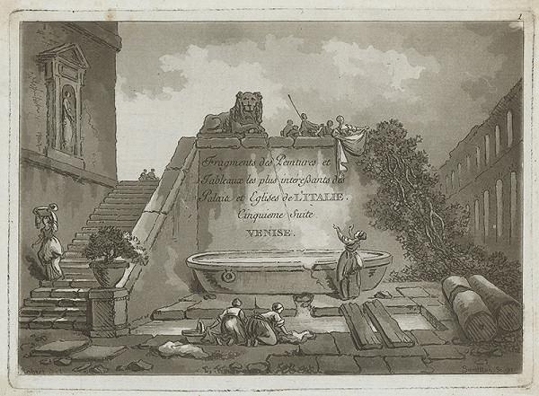 Hubert Robert, Jean Claude Richard de Saint-Non – Benátky