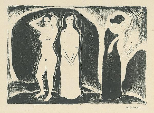 Mikuláš Galanda - Žena v troch podobách