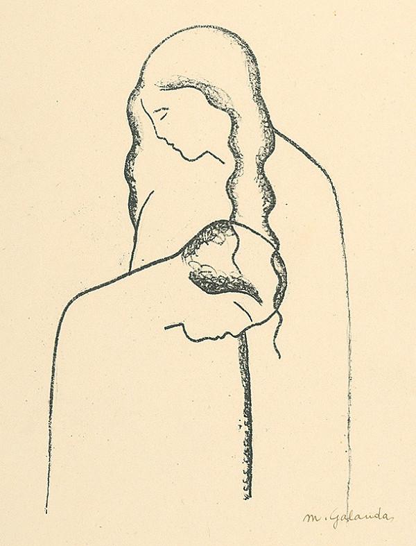 Mikuláš Galanda - Milenci II