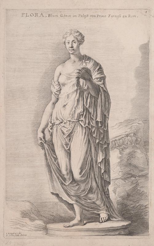 Richard Collin, Jacob von Sandrart – Flora