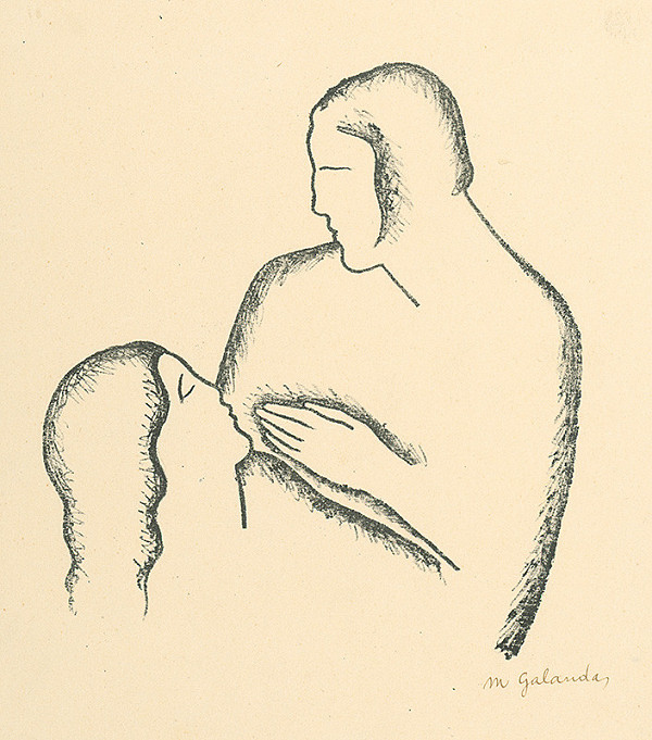 Mikuláš Galanda – Milenci - I.
