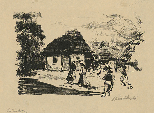 Anton Djuračka - Oheň na dedine