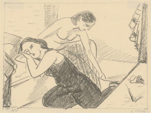Eugen Nevan - Odpočívajúce tanečnice