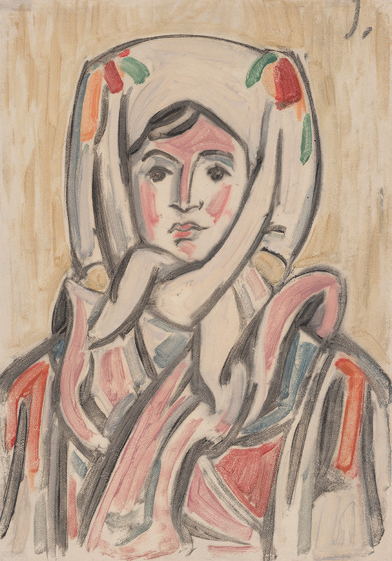 Jozef Ilečko – Hlava ženy