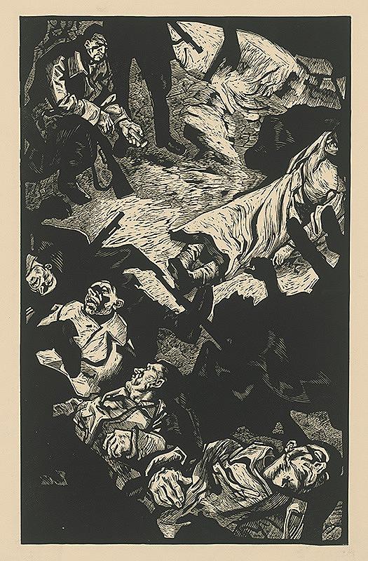 Vincent Hložník - Odpočinok partizánov