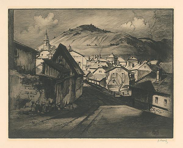 Gejza Angyal – Kremnica od mlyna