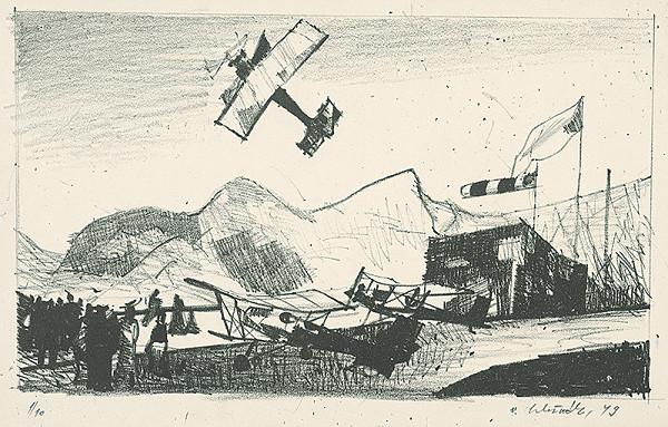 Vincent Hložník – Letište