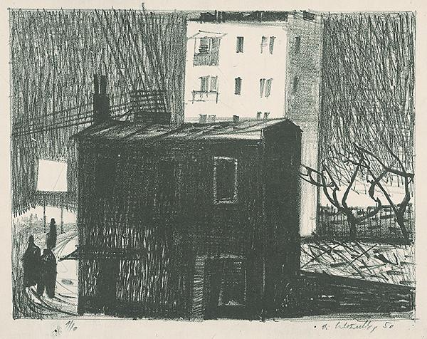 Vincent Hložník – Noční chodci