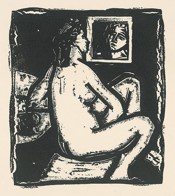 Vincent Hložník – Žena so zrkadlom