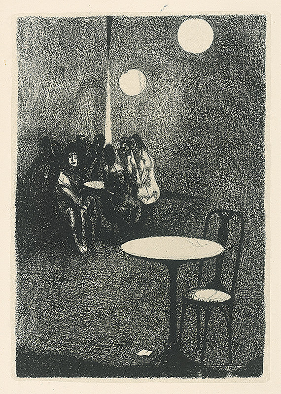 Vincent Hložník – Biely stolík
