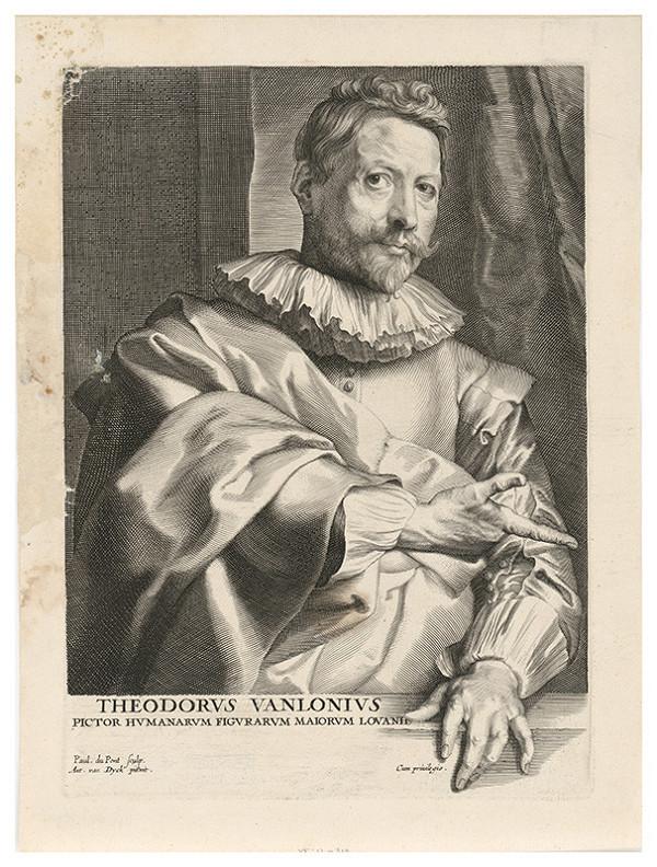 Paulus Pontius, Anthony van Dyck - Theodor van Lonius