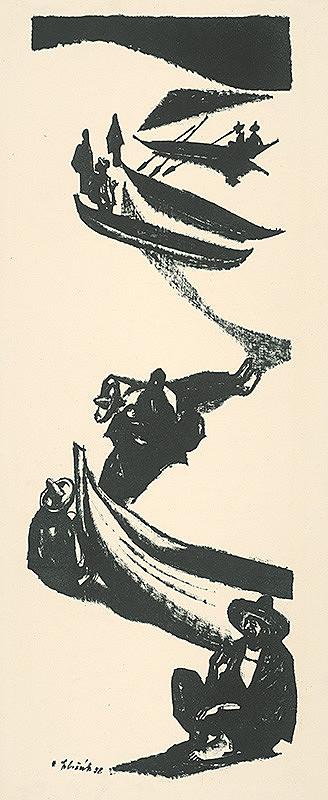 Vincent Hložník – Rybári