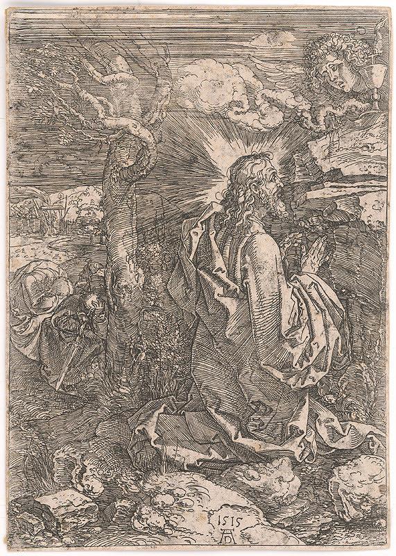 Albrecht Dürer – Kristus na hore Olivetskej