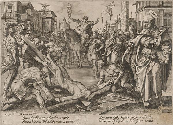 Hendrick Goltzius, Maarten de Vos st. – Svätý Peter