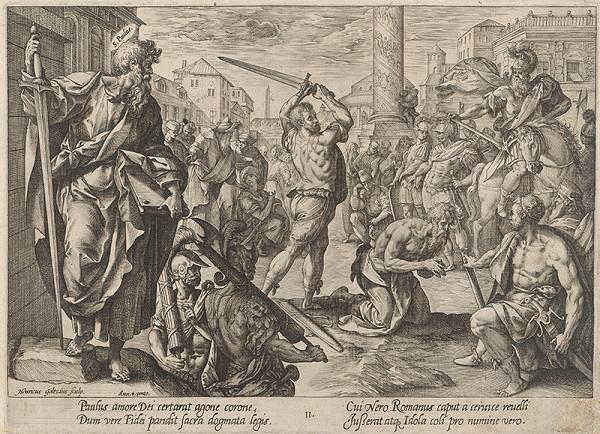 Hendrick Goltzius, Maarten de Vos st. - Svätý Pavol