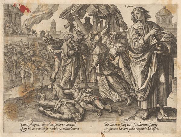 Hendrick Goltzius, Maarten de Vos st. - Svätý Ján