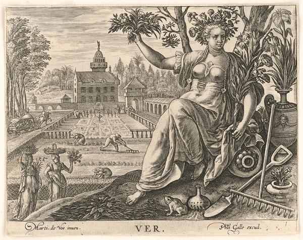 Neznámy rytec, Maarten de Vos st. – Jar (1)