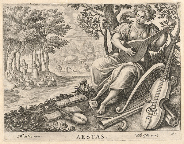 Neznámy rytec, Maarten de Vos st. - Leto (2)