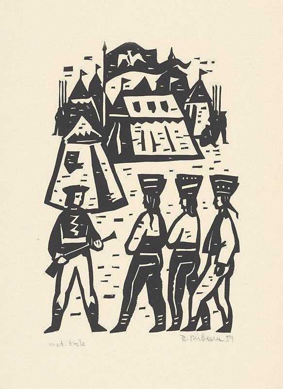 Róbert Dúbravec – Vojenský tábor