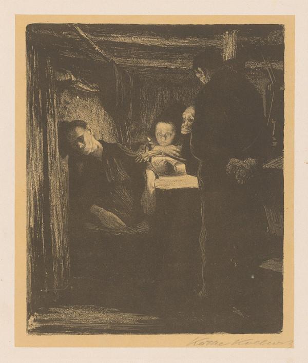 Käthe Kollwitz - Smrť