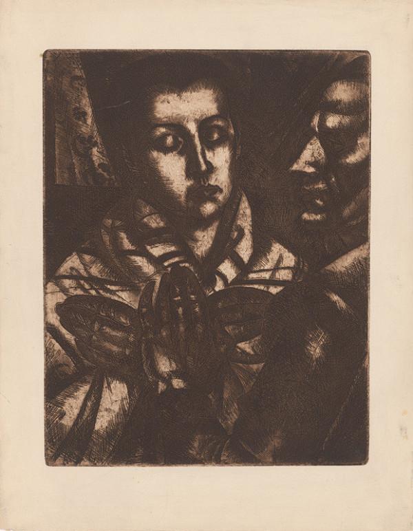 Béla Uitz – Muž a žena