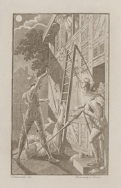 Jacob von Sandrart, Johann Caspar Weinrauch - Nápadník