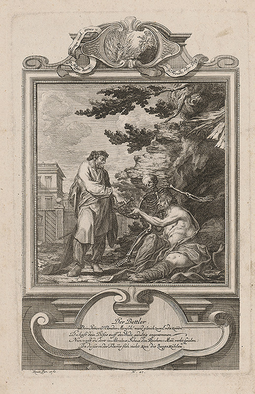 Michael Heinrich Rentz - Žobrák