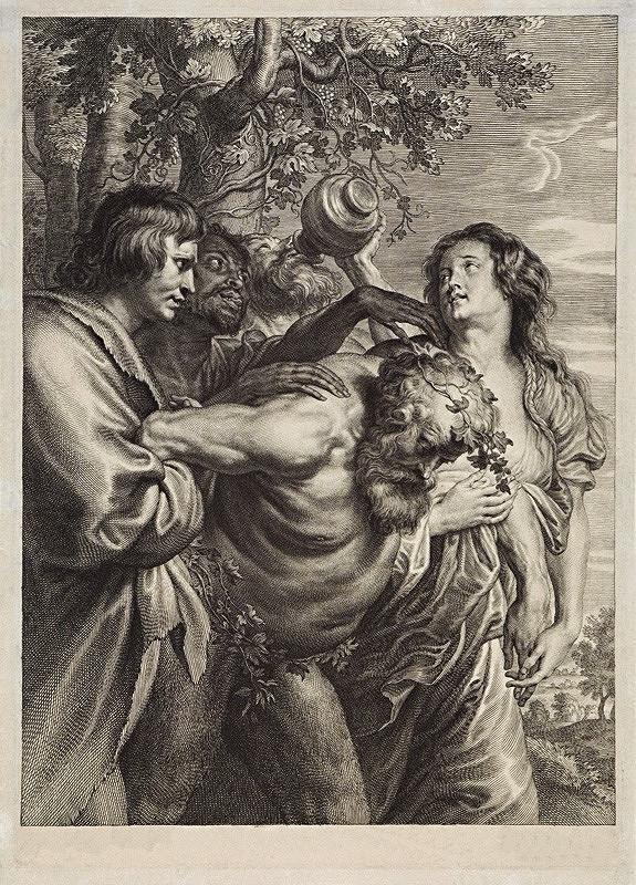 Schelte Bolswert, Anthony van Dyck – Opitý Silén