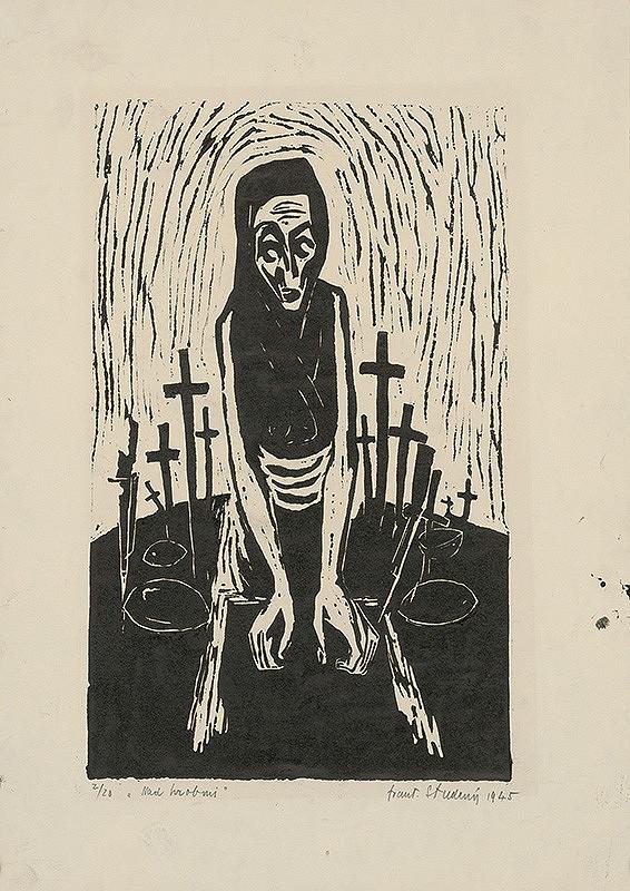 František Studený – Nad hrobmi