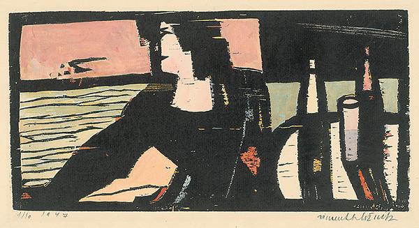 Vincent Hložník – Žena pri stole