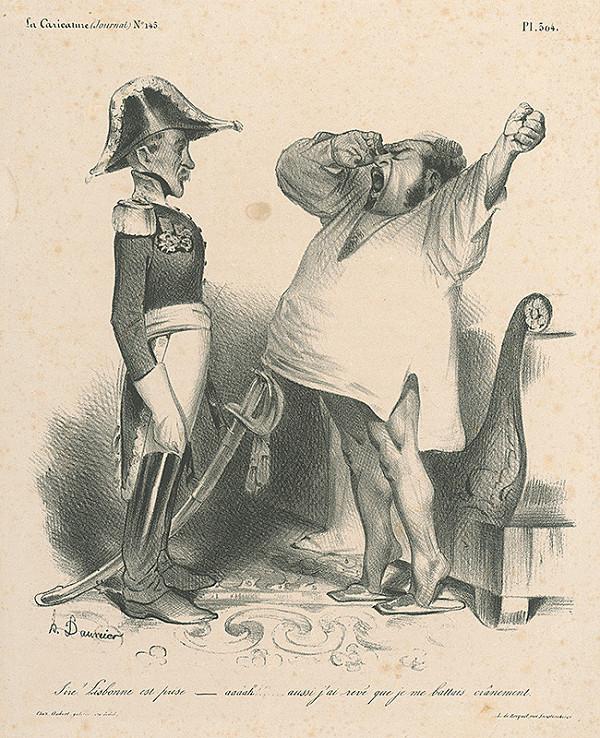 Honoré Daumier – Lisabon je dobytý