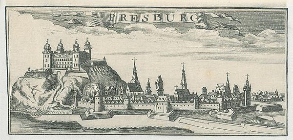 Stredoeurópsky grafik z 18. storočia - Bratislava