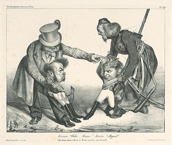 Honoré Daumier – Pedro a Miguel