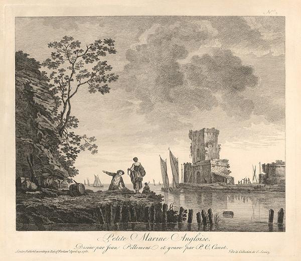 Pierre Charles Canot, Jean Baptiste Pillement – Malá anglická marina
