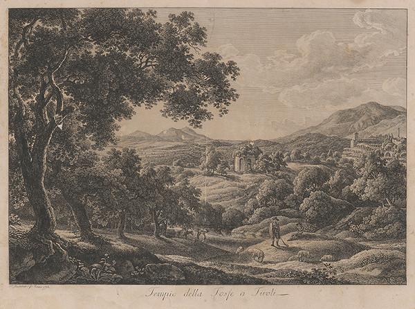 Johann Christian Reinhart – Krajina z Tivoli