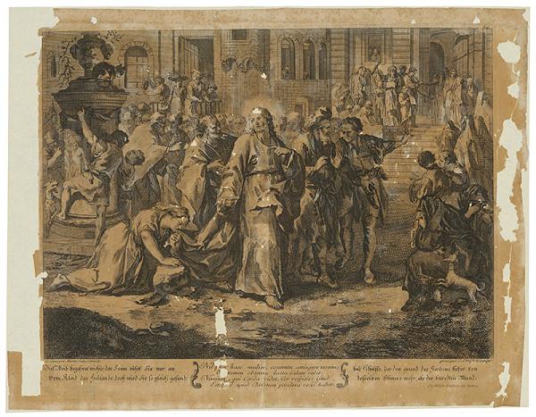 Johann Christoph Winkler, Martin Johann Schmidt - Uzdravenie krvotokej ženy