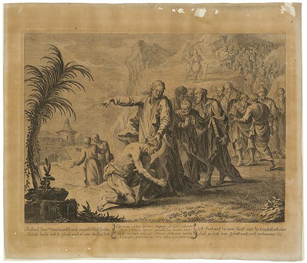 Johann Christoph Winkler, Martin Johann Schmidt – Kristus a kajúcnik