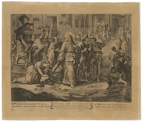 Johann Christoph Winkler, Martin Johann Schmidt – Kristus a cudzoložnica