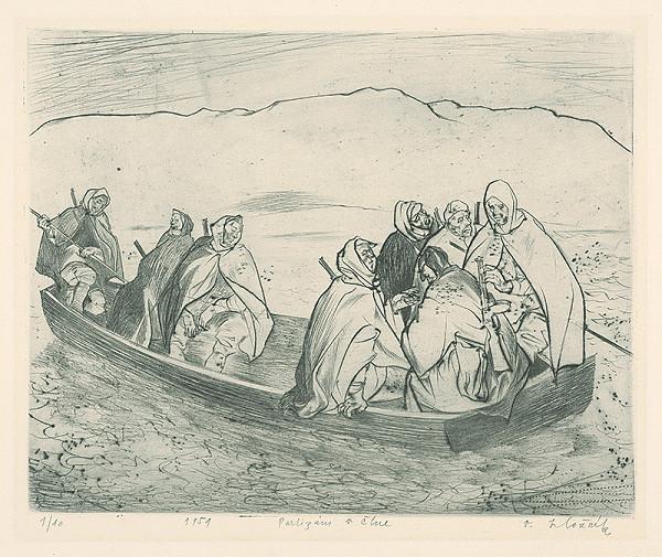 Vincent Hložník – Partizáni v člne